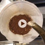 膨らまなくなった粉でコーヒーを淹れるコツ