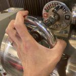 焙煎機にコーヒーの香りがアップする仕掛けをしました