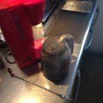 ご存じですか!コーヒーをドリップした直後 濃いのは底の方にたまってる事を!