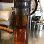 今更ですが、水だしコーヒーポットの美味しい作り方を調べます