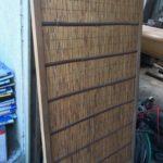 日本の古材で仕切りを作る