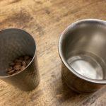 マグカップの時は粉18グラム