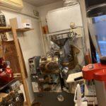 岡町本店には2台のコーヒーミルを配置してます